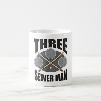 Three Sewer Man! Mug
