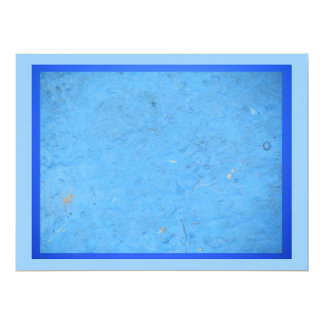 Three Shades of Blue 6.5x8.75 Paper Invitation Card