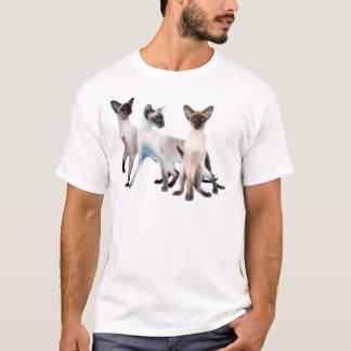 Three Siamese Cats T-Shirt