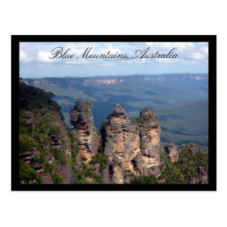 three sisters mountains postcard