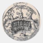 Three Sisters of Alchemy Round Sticker