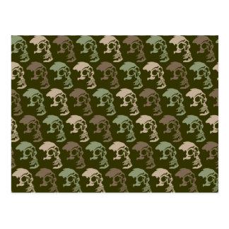 Three Skulls Go Commando Postcard