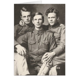 Three Soldiers Card