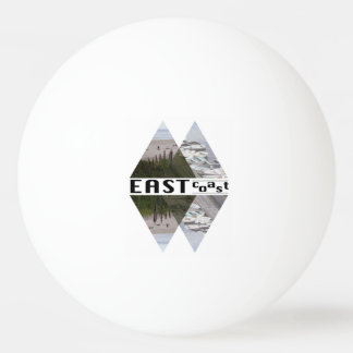 Three Star Ping Pong Ball, White EAST COAST