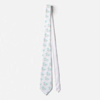 Three Starfish Prints Apparel Tie