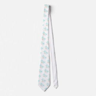 Three Starfish Prints Apparel Tie