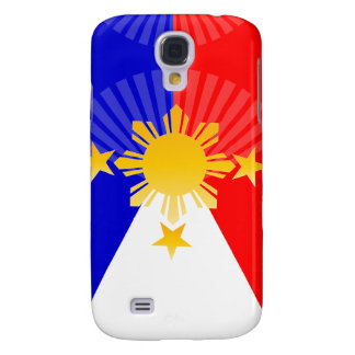 Three Stars & A Sun Stylized Philippine Flag Galaxy S4 Covers