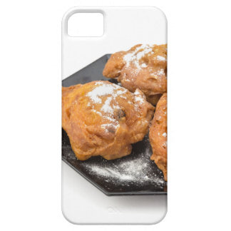 Three sugared fried fritters or oliebollen iPhone 5 covers