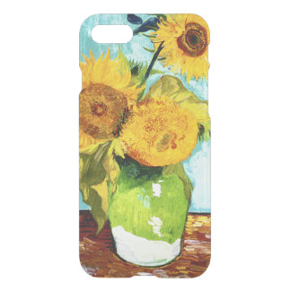Three Sunflowers by Van Gogh Fine Art iPhone 7 Case