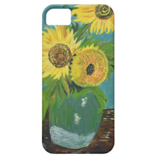 Three Sunflowers in a Vase, van Gogh Barely There iPhone 5 Case