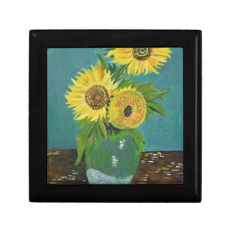 Three Sunflowers in a Vase, van Gogh Gift Box