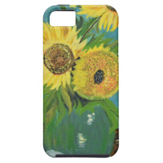 Three Sunflowers in a Vase, van Gogh iPhone 5 Case