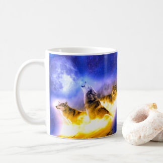 Three Super Sonic Wolf Moon Mug