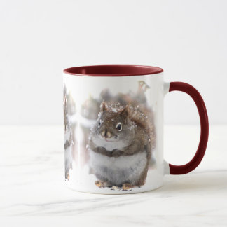 Three Sweet Squirrels Mug