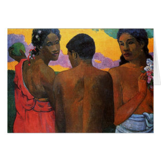 'Three Tahitians' - Paul Gauguin Card