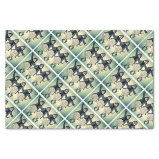 Three Tenor Beagles (Opera Singing Beagles) Tissue Paper