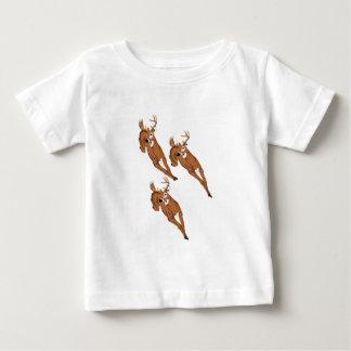Three to Run Baby T-Shirt