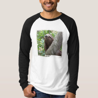 Three Toed Sloth Men's Long Sleeve T-Shirt