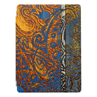 "Three Tone Blue Jean Swirl 12.9"" iPad Pro Cover"