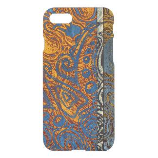 Three Tone Blue Jean Swirl iPhone 8/7 Case