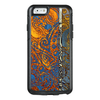 Three Tone Blue Jean Swirl OtterBox iPhone 6/6s Case