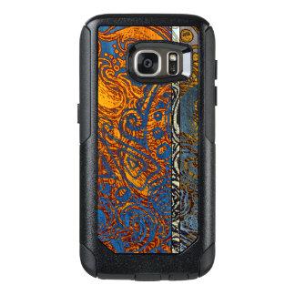 Three Tone Blue Jean Swirl OtterBox Samsung Galaxy S7 Case