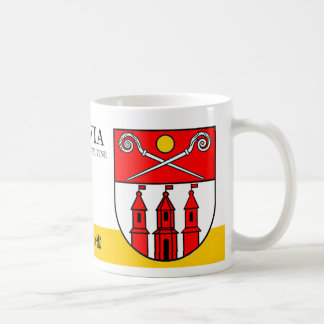 Three Towers under Magic Sun from Piltene Latvia Coffee Mug