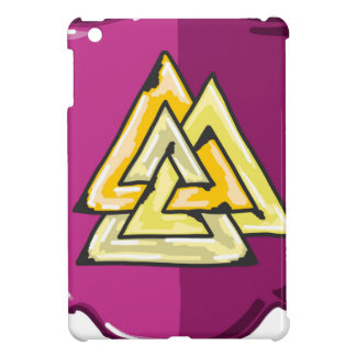 Three Triangles Shield Sketch iPad Mini Covers