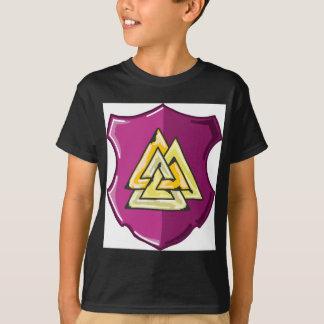 Three Triangles Shield Sketch T-Shirt