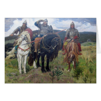 Three Viking Scouts Card