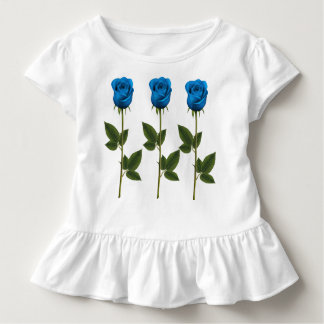 Three Violets, Toddle Ruffle T Toddler T-Shirt