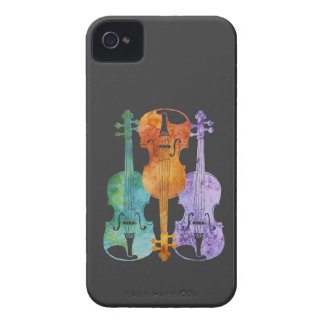 Three Violins iPhone 4 Case-Mate Case