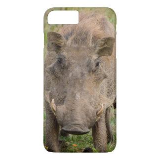 Three Warthog Piglets Suckle On Their Mother iPhone 7 Plus Case