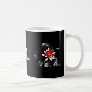 Three Water Lilies Coffee Mug