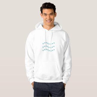 Three wavy lines hoodie