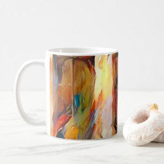 Three Windows of Emotion, abstract expression Coffee Mug