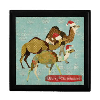 Three Wise Camels Christmas Gift Box