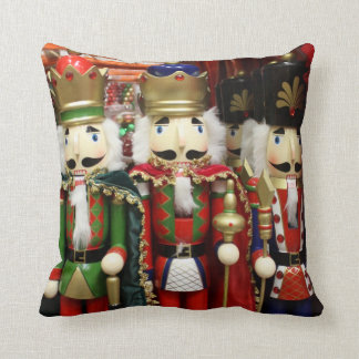 Three Wise Crackers - Nutcracker Soldiers Cushion