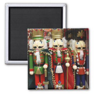 Three Wise Crackers - Nutcracker Soldiers Magnet