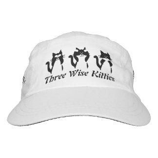 Three Wise Kitties Hat