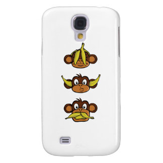 Three Wise Monkeys Galaxy S4 Cover