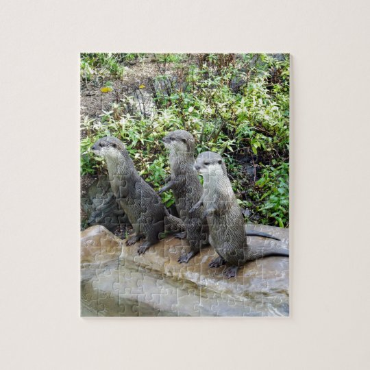 Three Wise Otters, Jigsaw Puzzle