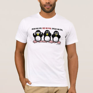 Three Wise Penguins Shirts