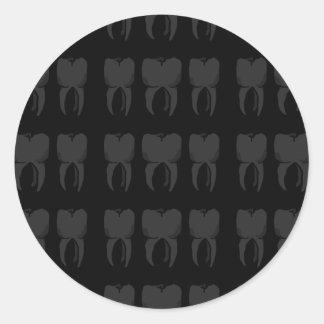 Three Wise Teeth Dentist Stickers