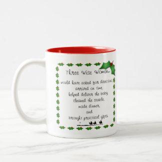 Three Wise Women Holiday Mug