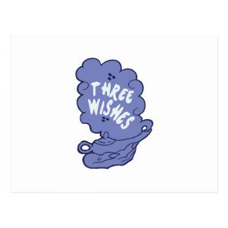 Three Wishes Postcard