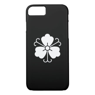 Three wisteria blooms with vines iPhone 8/7 case