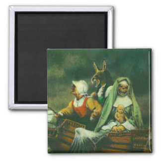 Three Witches Magnet Magnets