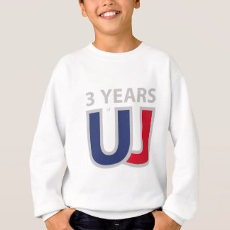 Three years of Union Jack Sweatshirt