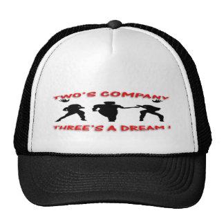 three's a dream hats